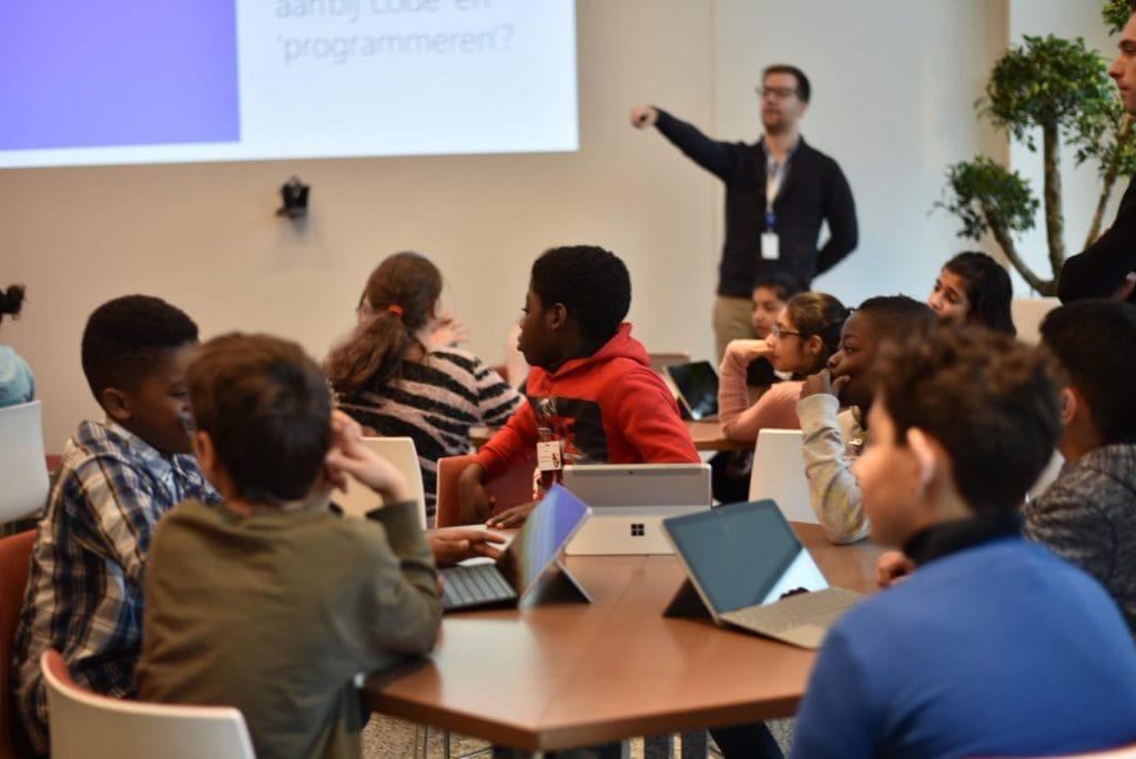 Digikids : Profitez d'une journée gratuite chez Microsoft Belgique et Brussels Airport avec votre classe