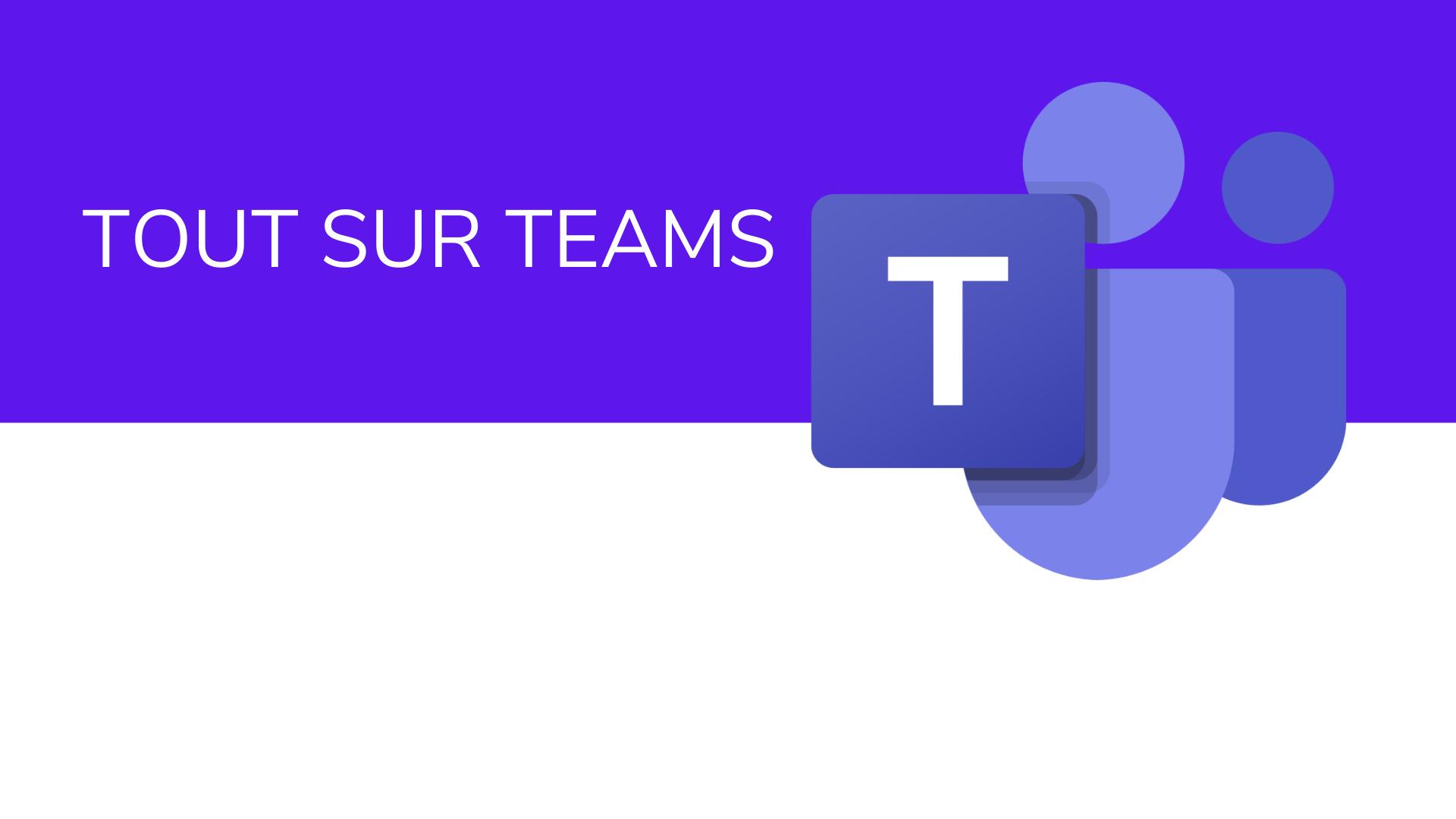Mes webinaires et mes ressources sur Microsoft Teams